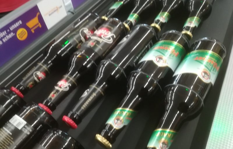 Bier bei Netto